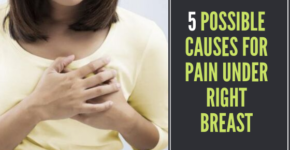 Pain under Right Breast