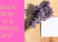 Remove term: what to write in a wedding card what to write in a wedding card